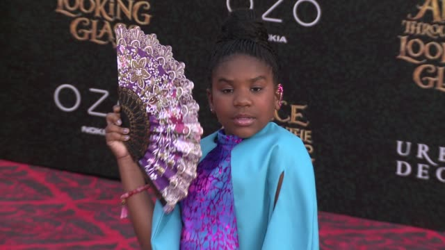 trinitee stokes at the alice through the looking glass los angeles premiere at the el capitan theatre on may 23 2016 in hollywood california - el capitan kino stock-videos und b-roll-filmmaterial
