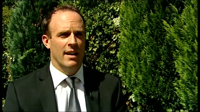 Triple murderer challenges his 'life' sentence ENGLAND EXT Dominic Raab MP interview SOT because of perverse ruling in Strasbourg there is risk he'll...