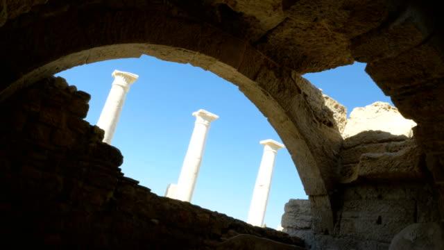 De oude stad Tripolis in Denizli, Turkije