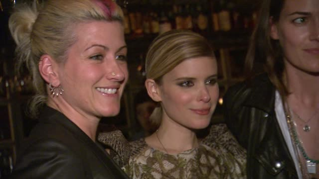trish summerville kate mara at hm conscious exclusive dinner in los angeles ca - kate mara stock videos and b-roll footage