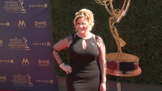 trisha yearwood at the 44th annual daytime emmy awards at pasadena civic auditorium on april 30 2017 in pasadena california - pasadena civic auditorium stock-videos und b-roll-filmmaterial