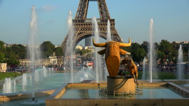 Trocadero and Eiffel Tower, Paris, France, Europe
