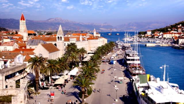 Trogir Kroatien Timelapse