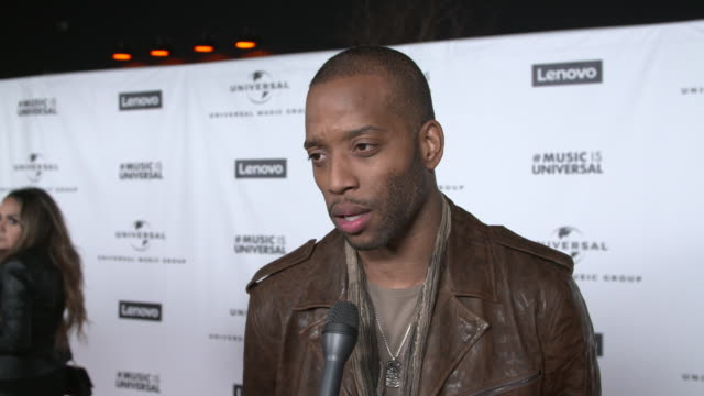 vídeos de stock e filmes b-roll de trombone shorty on were you able to catch the show tonight, on what was that experience like, on who were you rooting for tonight, on what was your... - prémios grammy