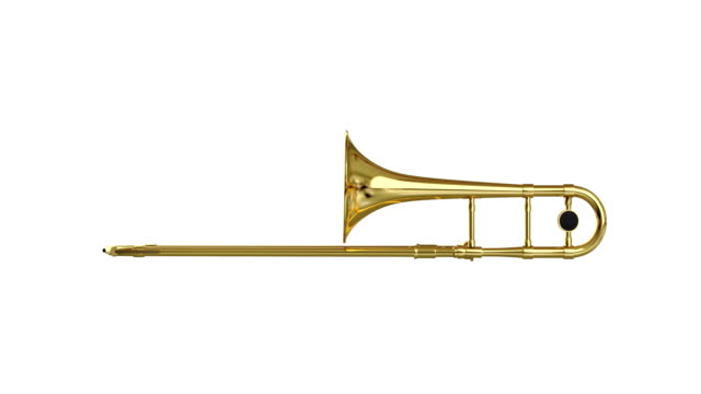 trombone spin isolated with luma matte loopable. - man made stock videos & royalty-free footage