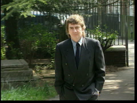 stockvideo's en b-roll-footage met trooping of the colour / honours list lib london ext comedian and actor dudley moore at peter cook memorial service along pan - dudley moore