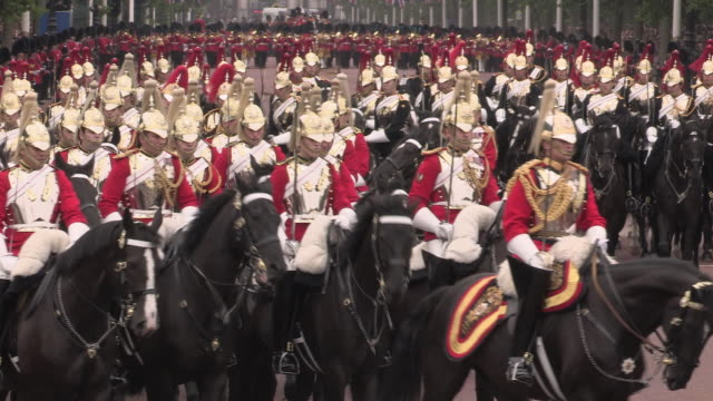 Trooping the Colour at Buckingham Palace