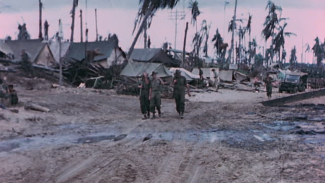 ws anzac troops in military encampment / the philippines - british empire stock videos & royalty-free footage