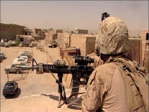 troops on patrol sangin - helmand stock videos & royalty-free footage