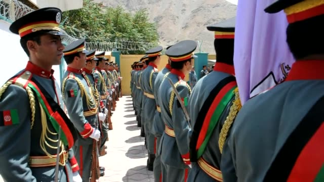 nato troops on sunday handed control of the panjshir valley a fiercely antitaliban province to afghan forces in the last of a series of security... - panjshir valley stock videos and b-roll footage