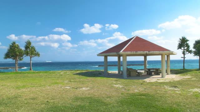 トロピカルビーチと青い空。 - 旅行地点の映像素材/bロール