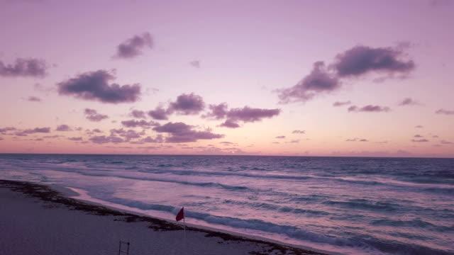 tropical beach resort - mayan riviera stock videos & royalty-free footage