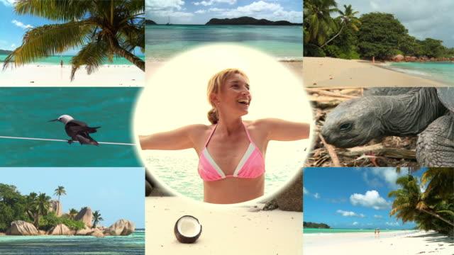 HD MONTAGE: Tropical Beach