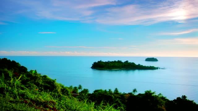 tropical beach. - bermuda stock videos & royalty-free footage