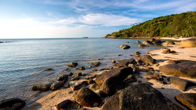 tropical beach - ko phangan stock videos and b-roll footage