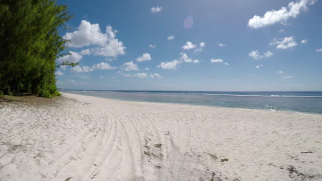 tropical beach - guam stock videos and b-roll footage