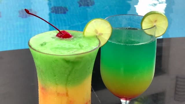 tropical cocktail - tropical cocktail stock videos & royalty-free footage