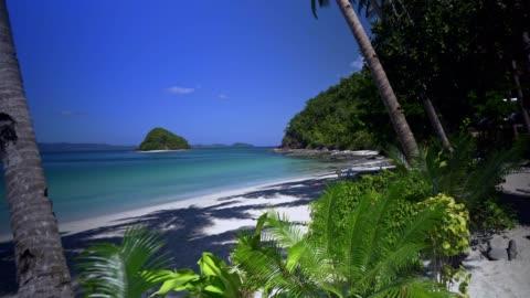 vídeos y material grabado en eventos de stock de vacaciones en la playa isla tropical en palawan, filipinas - beach holiday