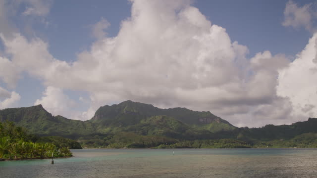 vidéos et rushes de tropical island - île d'huahine