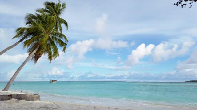 vídeos y material grabado en eventos de stock de paraíso tropical en maldivas-isla ayada - idílico