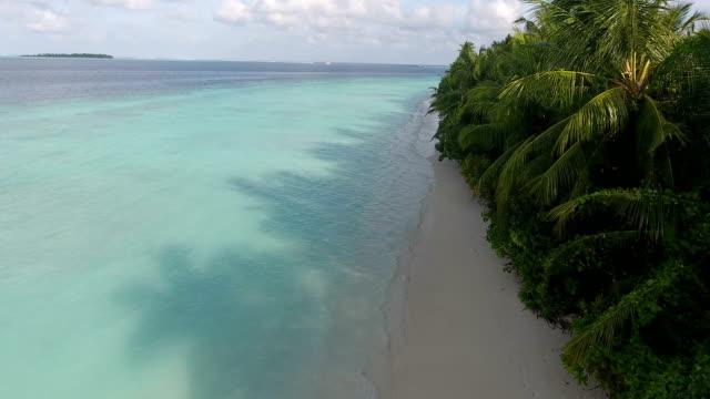 tropical paradise, luxury holiday in maldives - ayada island - maldives stock videos & royalty-free footage