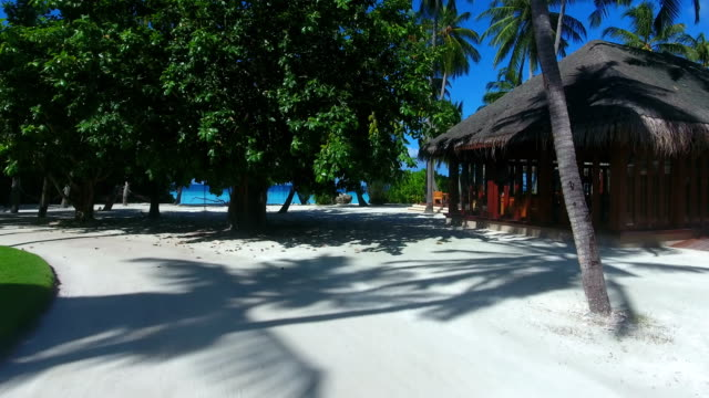 tropical paradise, luxury holiday in maldives - ayada island - lido stock videos & royalty-free footage