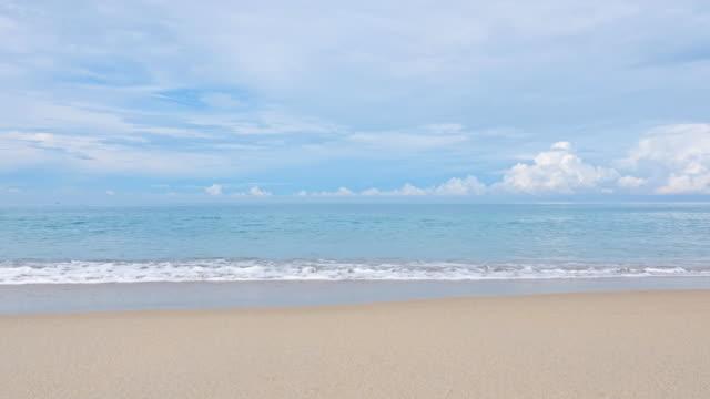 タイのトロピカルシースケープビーチ - 平穏点の映像素材/bロール