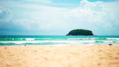 tropical seascape - tropical climate stock videos & royalty-free footage