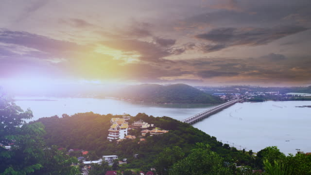 Tropical seascape:Time lapse
