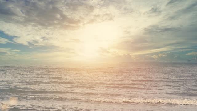 熱帯の海の風景: 時間の経過 - リゾート地点の映像素材/bロール