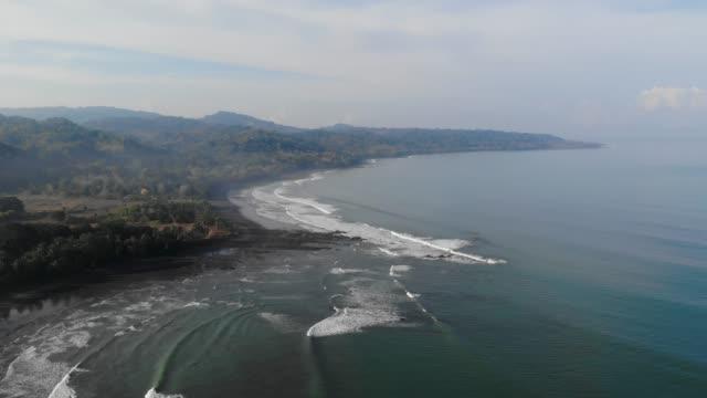 tropocal beach - costa rica stock-videos und b-roll-filmmaterial