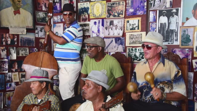 trova house or house of the music in santiago de cuba - maraca stock videos & royalty-free footage