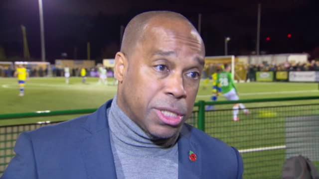 troy townsend of kick it out criticising the punishment of a stadium ban for bulgaria after crowd racism in the match with england and feels it... - international team soccer stock videos & royalty-free footage
