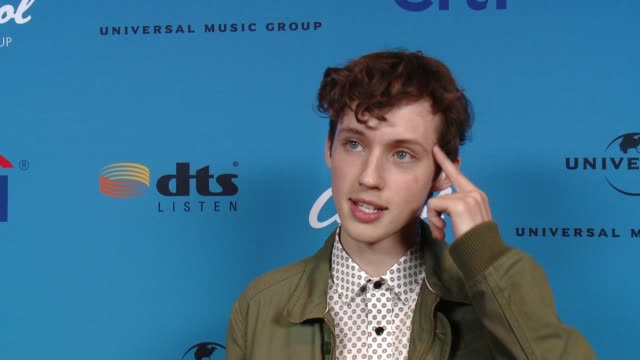 interview troye sivan at arclight cinemas on august 05 2015 in hollywood california - arclight cinemas hollywood stock videos and b-roll footage