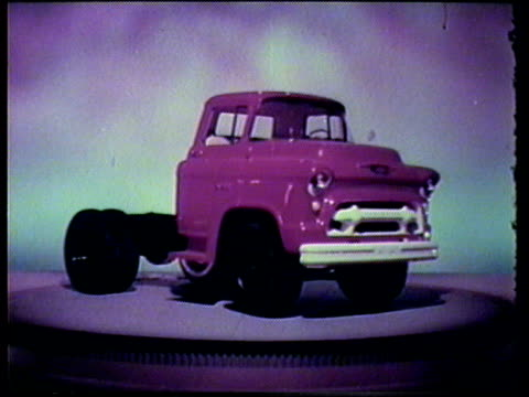 1955 truck advertisement - chevrolet truck stock videos & royalty-free footage