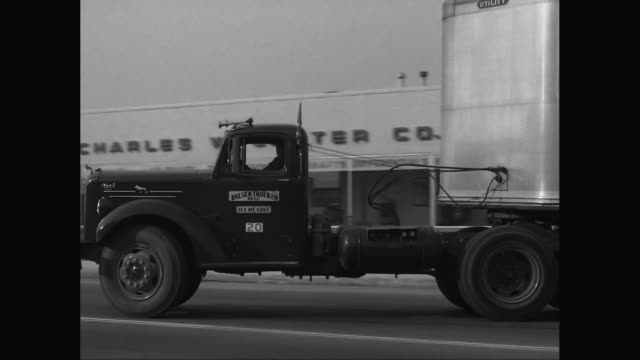 WS PAN truck leaving from factory / United States