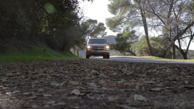 LA Truck passing on gravel road