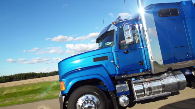 trucking on the highway - heavy goods vehicle stock videos & royalty-free footage