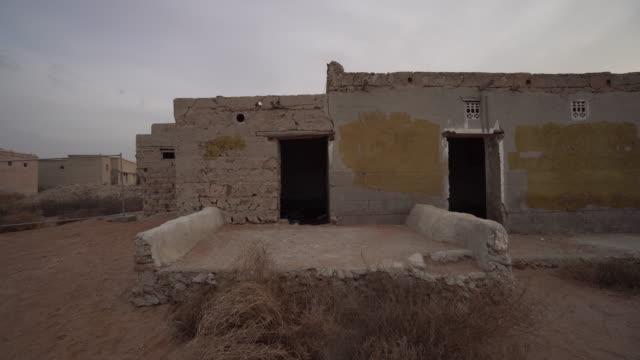 Trucking shot, village in Ras al-Khaimah