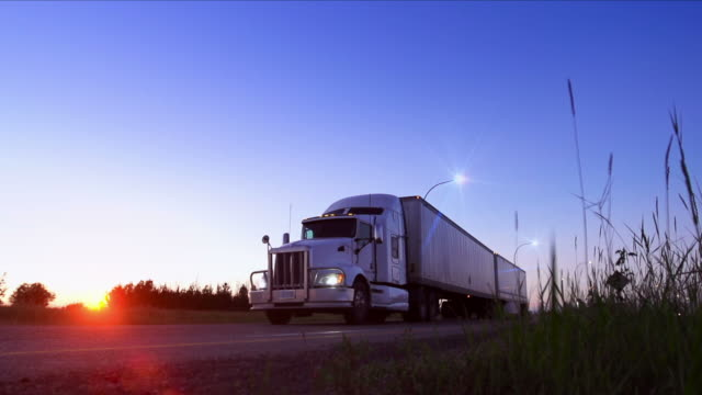 trucking - truck stock videos & royalty-free footage