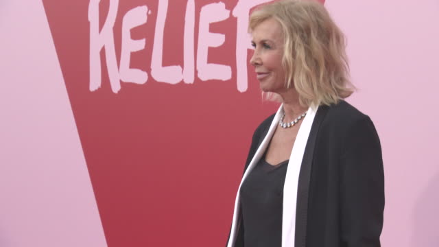 trudie styler at fashion for relief at on may 20, 2017 in cannes, france. - trudie styler stock-videos und b-roll-filmmaterial