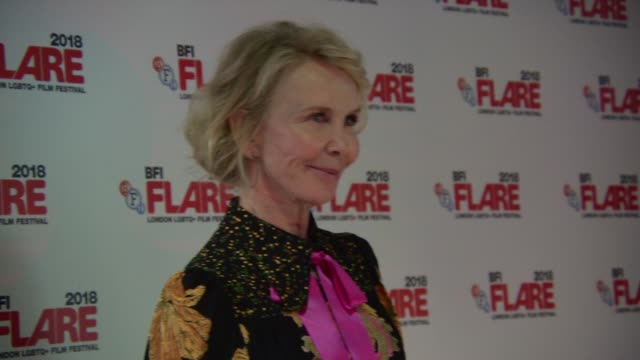 trudie styler at 'freak show' screening at bfi southbank on march 28, 2018 in london, england. - trudie styler stock videos & royalty-free footage
