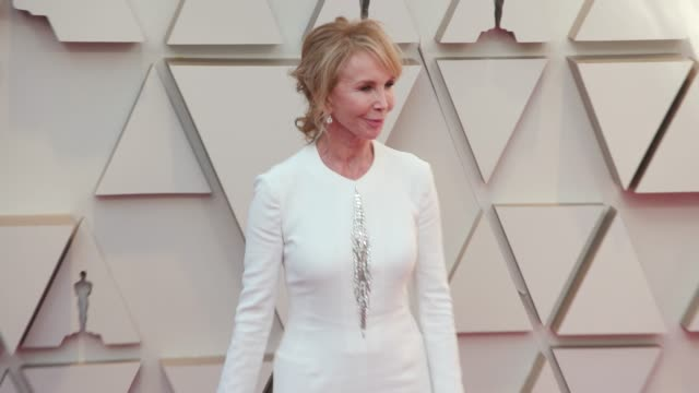 trudie styler at the 91st academy awards - arrivals at dolby theatre on february 24, 2019 in hollywood, california. - trudie styler stock videos & royalty-free footage