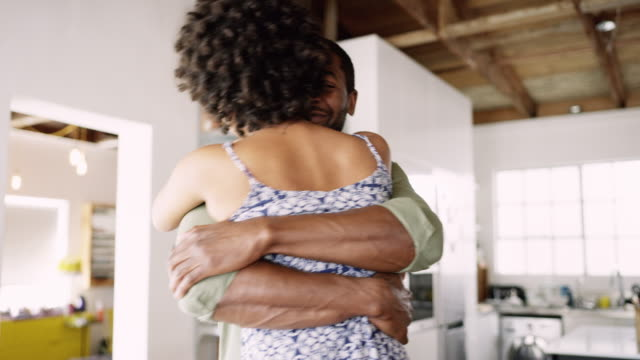 true love feels like coming home - contented emotion stock videos & royalty-free footage