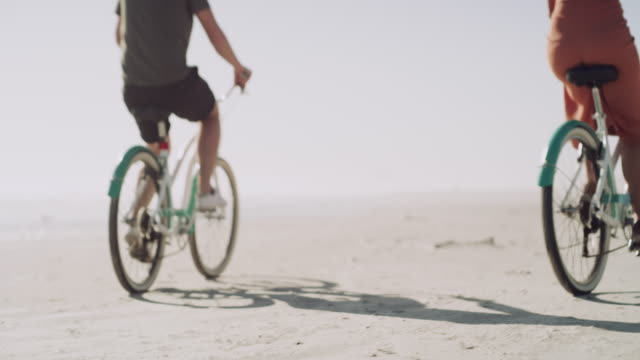 true love moves mountains, and bicycle wheels - coastal feature stock videos & royalty-free footage