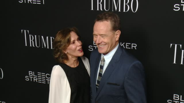 clean trumbo los angeles premiere at the academy of motion picture arts and sciences on october 27 2015 in beverly hills california - academy of motion picture arts and sciences stock-videos und b-roll-filmmaterial