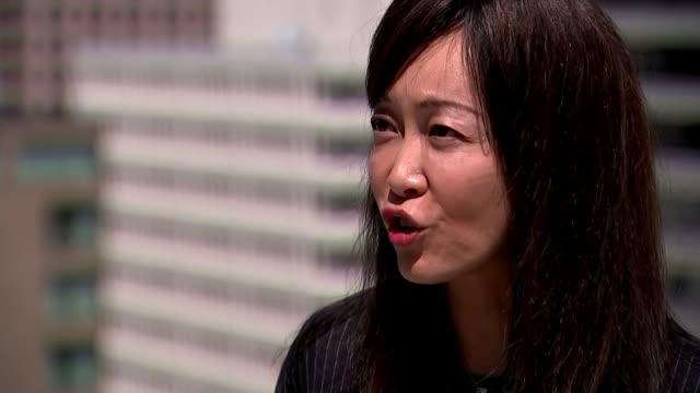 trump cancels summit with kim jongun usa washington dc sue mi terry interview sot - summit meeting stock videos and b-roll footage
