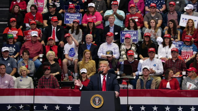 trump election campaign for marsha blackburn. - patriotism stock videos & royalty-free footage