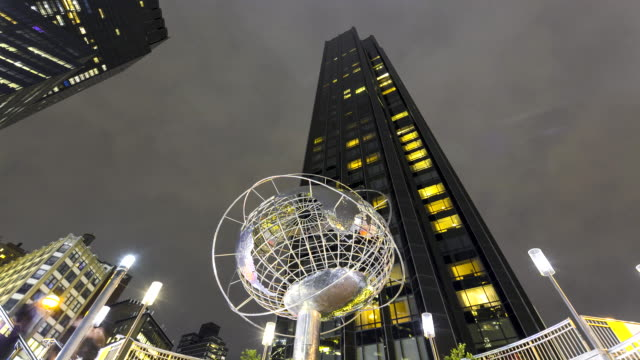 time lapse, trump hotel – tower, new york - unisphere stock videos & royalty-free footage