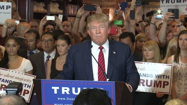 trump presser- gop pledge - oath stock videos & royalty-free footage